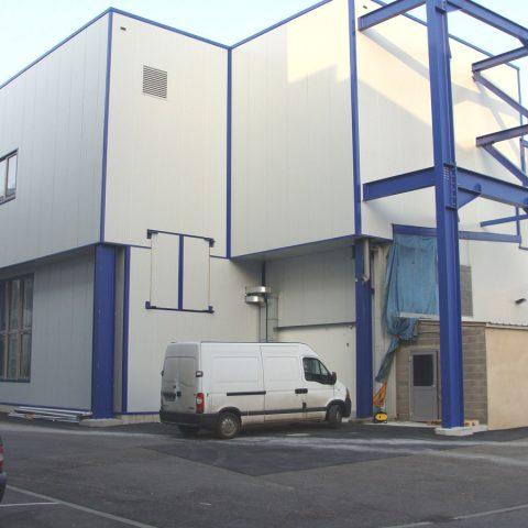 Intégration d'un bâtiment de production dans une unité existante – OCTAPHARMA (industrie pharmaceutique)