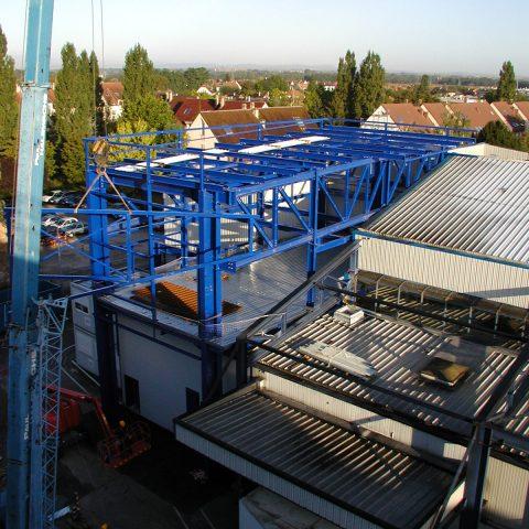 Intégration d'un bâtiment de production dans une unité existante – OCTAPHARMA