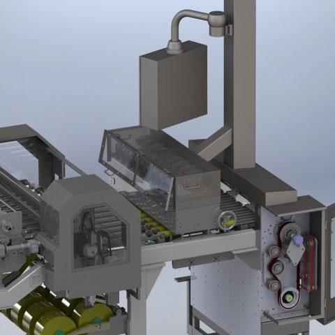 Réhabilitation et modification d'une machine de conditionnement – industrie agro-alimentaire