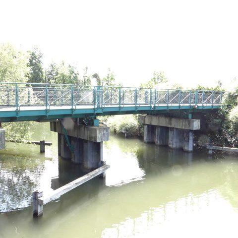 Pont levis à Erstein