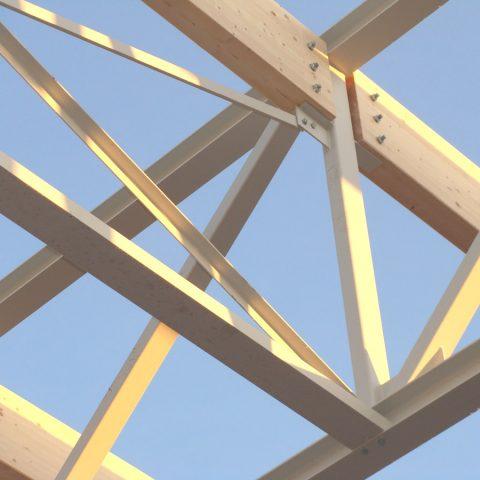 Structure mixte métal/bois – bâtiment tertiaitre (centre de formation) – KUHN